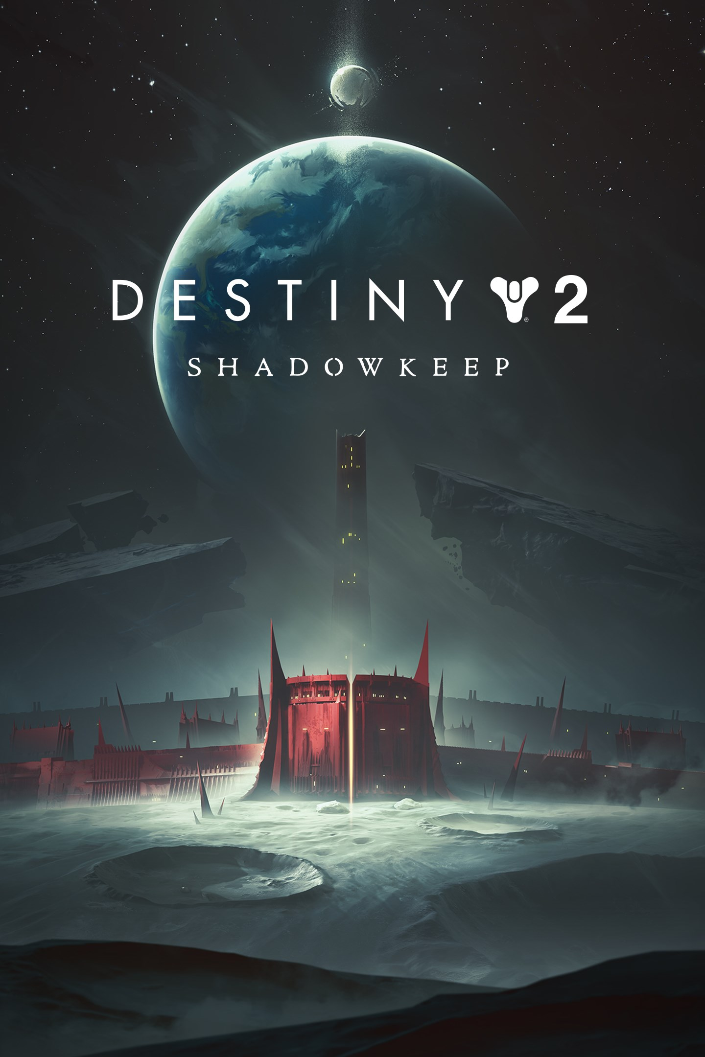 Cover Art for Destiny 2 Shadowkeep.