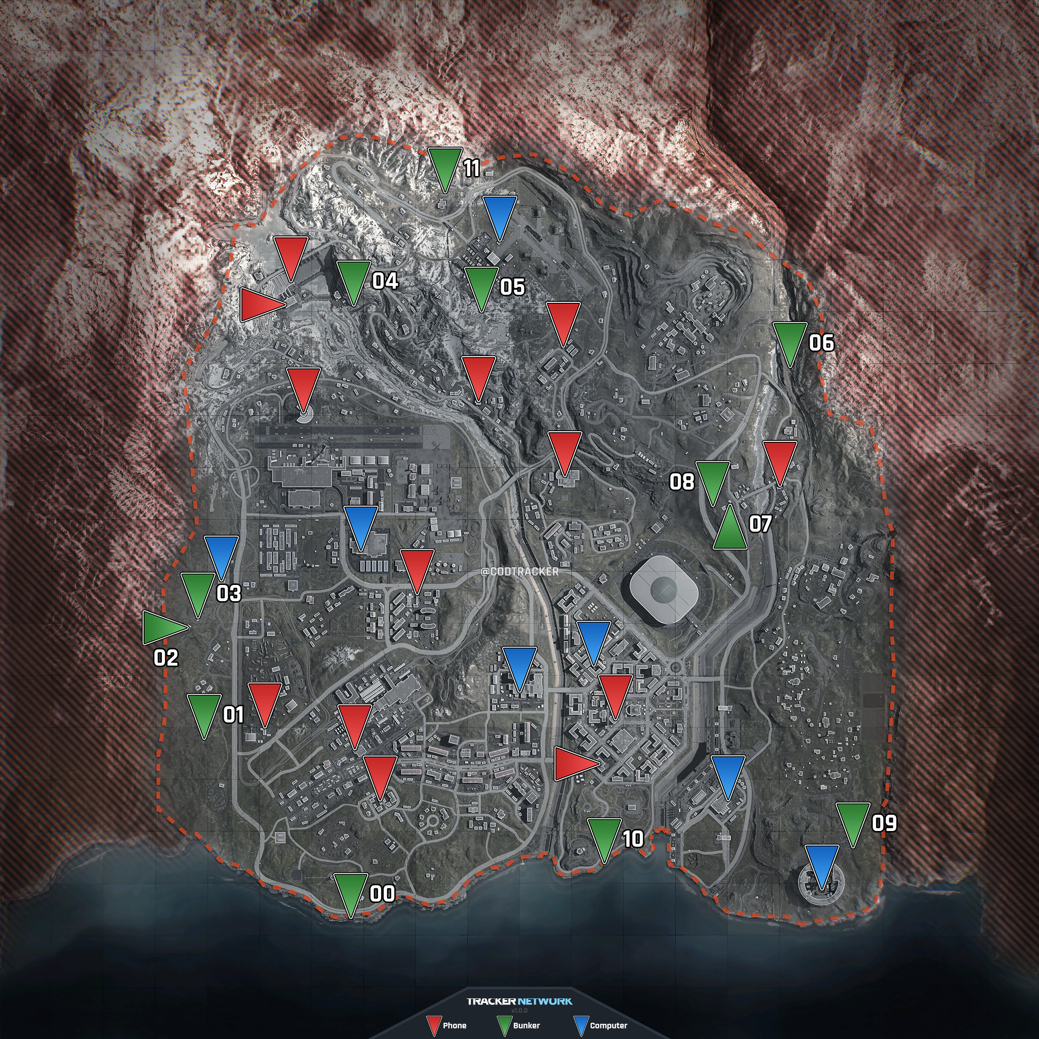 What S Inside Of The Secret Bunkers In Call Of Duty Warzone