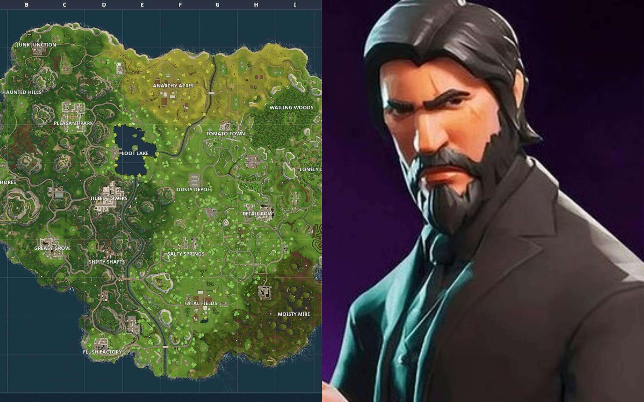 Fortnite Continue To Hint At Return To Old Map