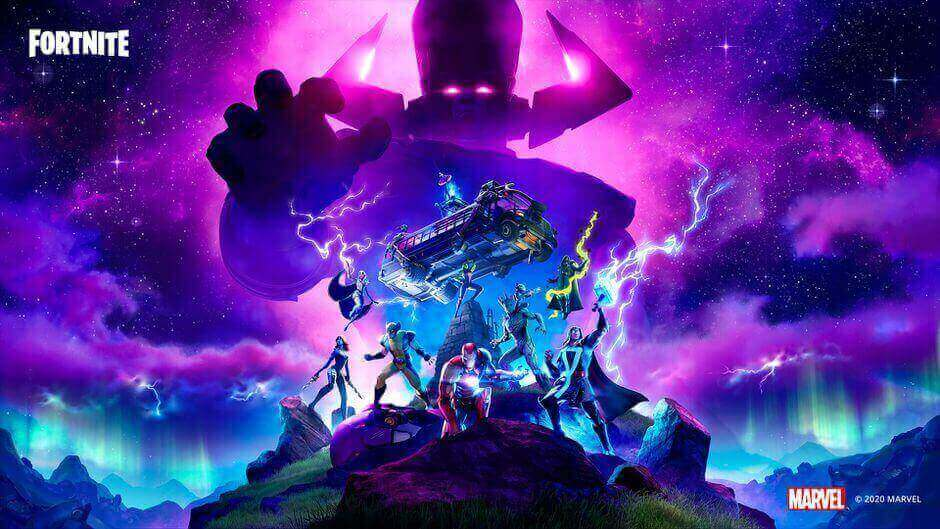 Where should you stand for the Galactus Fortnite event?