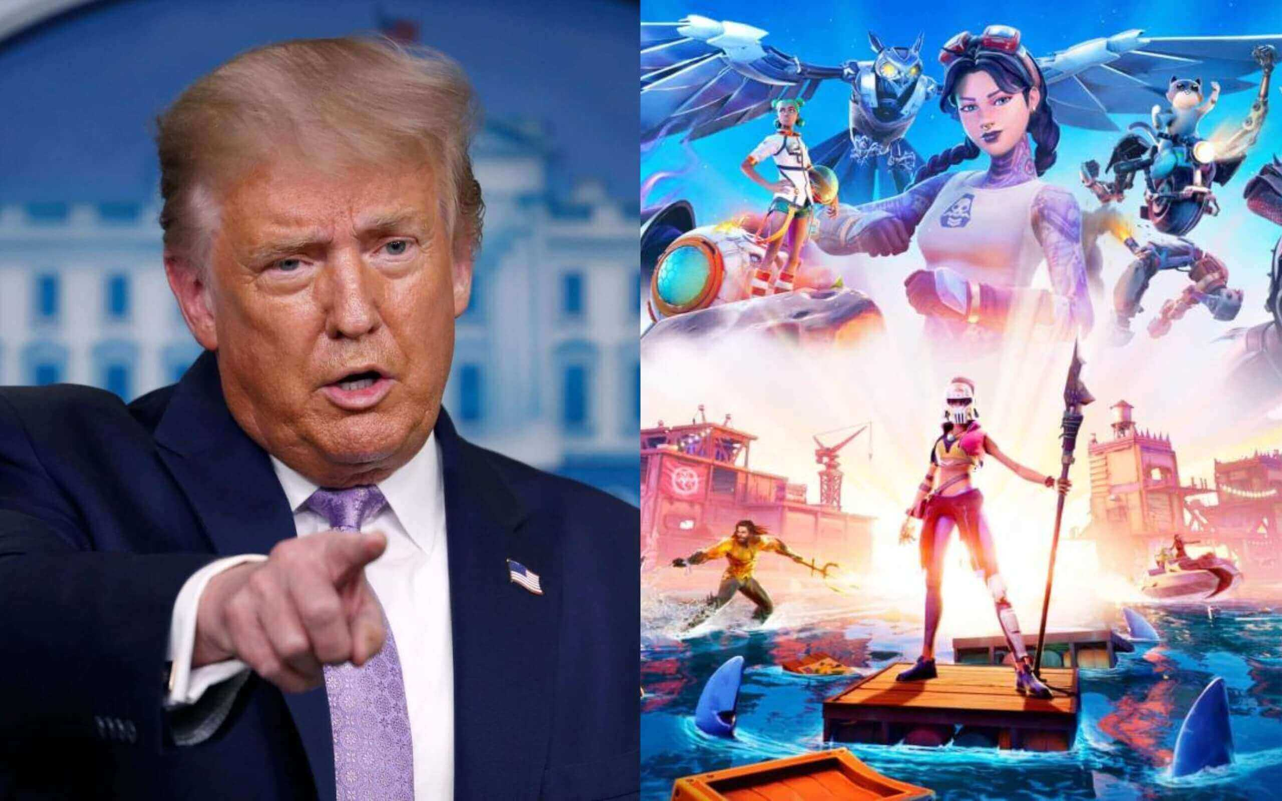 Fortnite will not be affected by Trump's Tencent ban