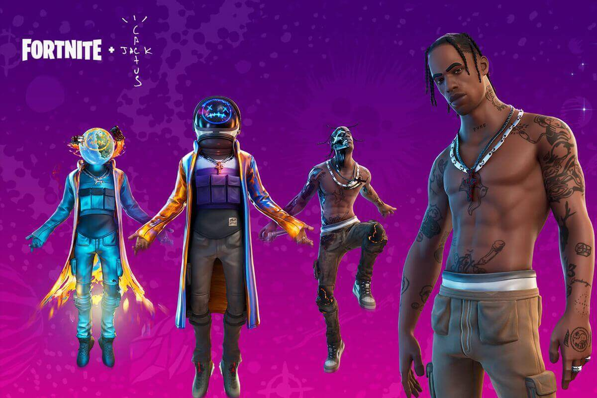 Fortnite hits 12.3 million concurrent player record during Travis Scott concert 1