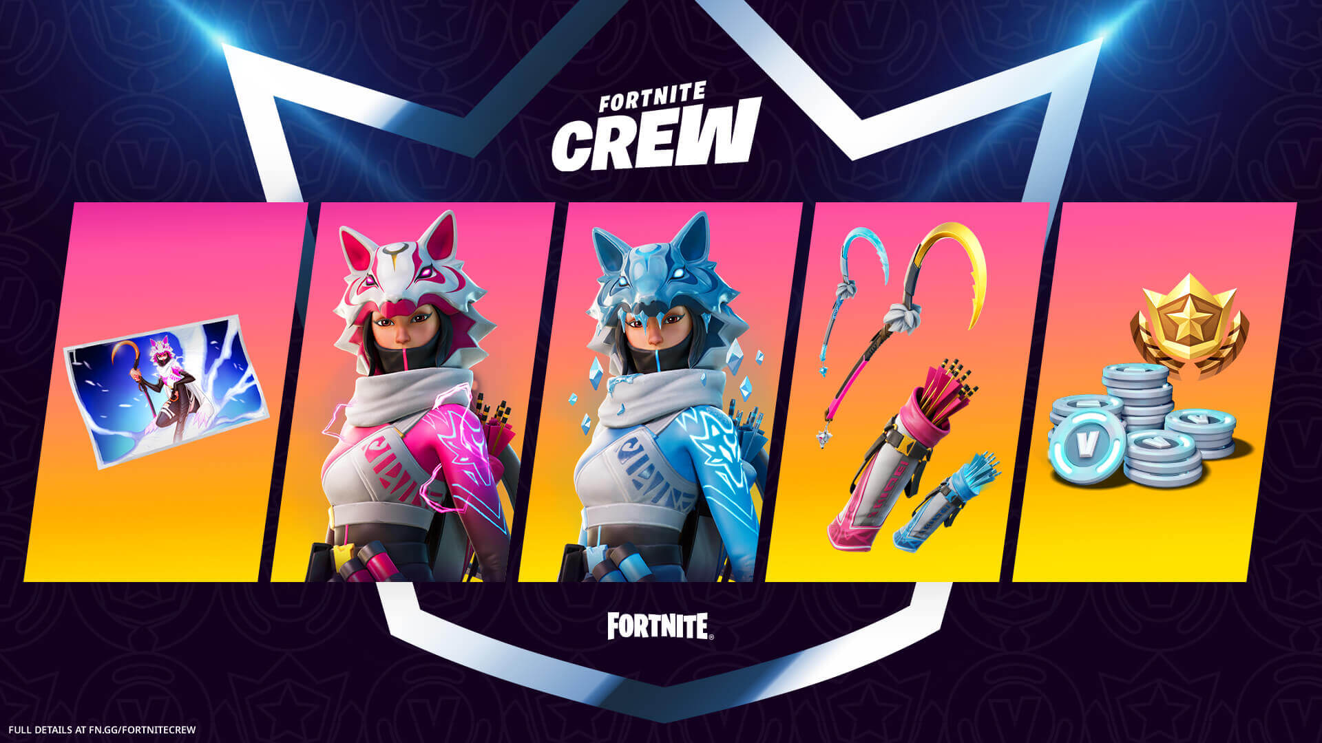 February's exclusive Fortnite Crew skin is Vi: Outfit, styles & more
