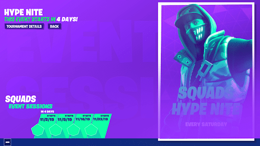 Fortnite Hype Images How Fortnite S Hype Nite Is Your Pass To Champion Division
