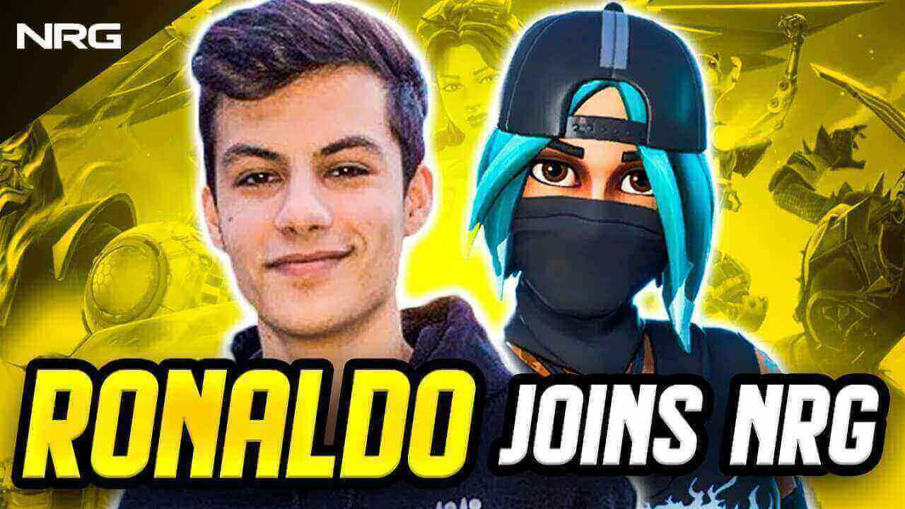 Ronaldo joins Clix and UnknownArmy as newest NRG recruit