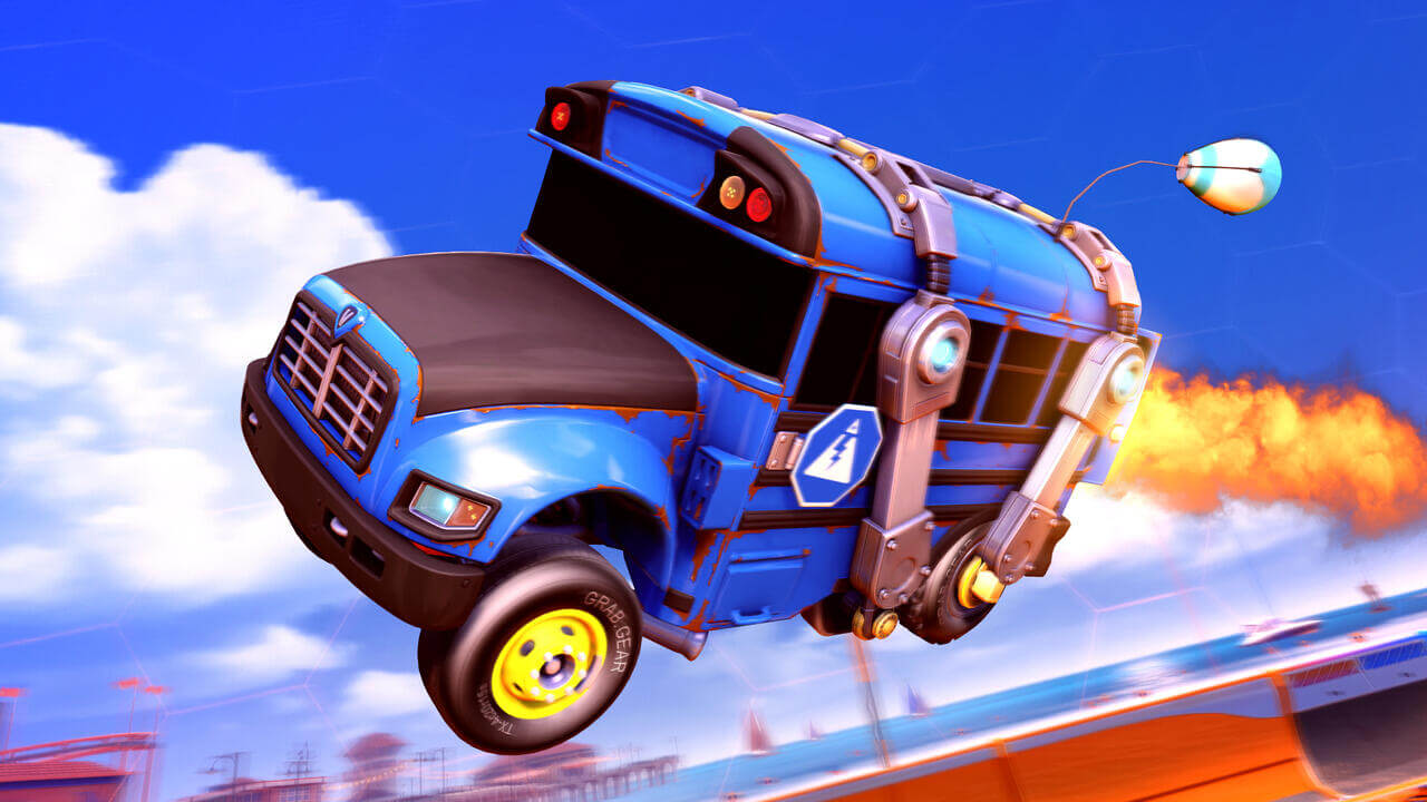 Unlock free Fortnite rewards by completing challenges in Rocket League
