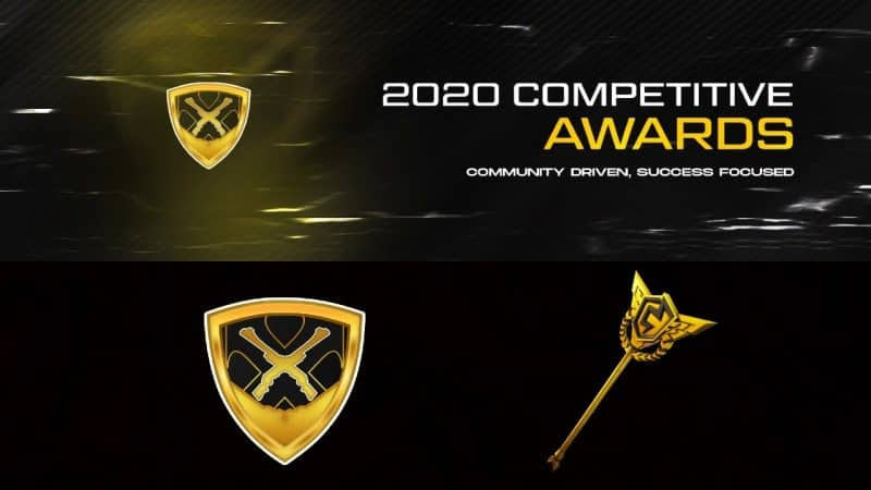 Vote in the 2020 competitive Fortnite awards