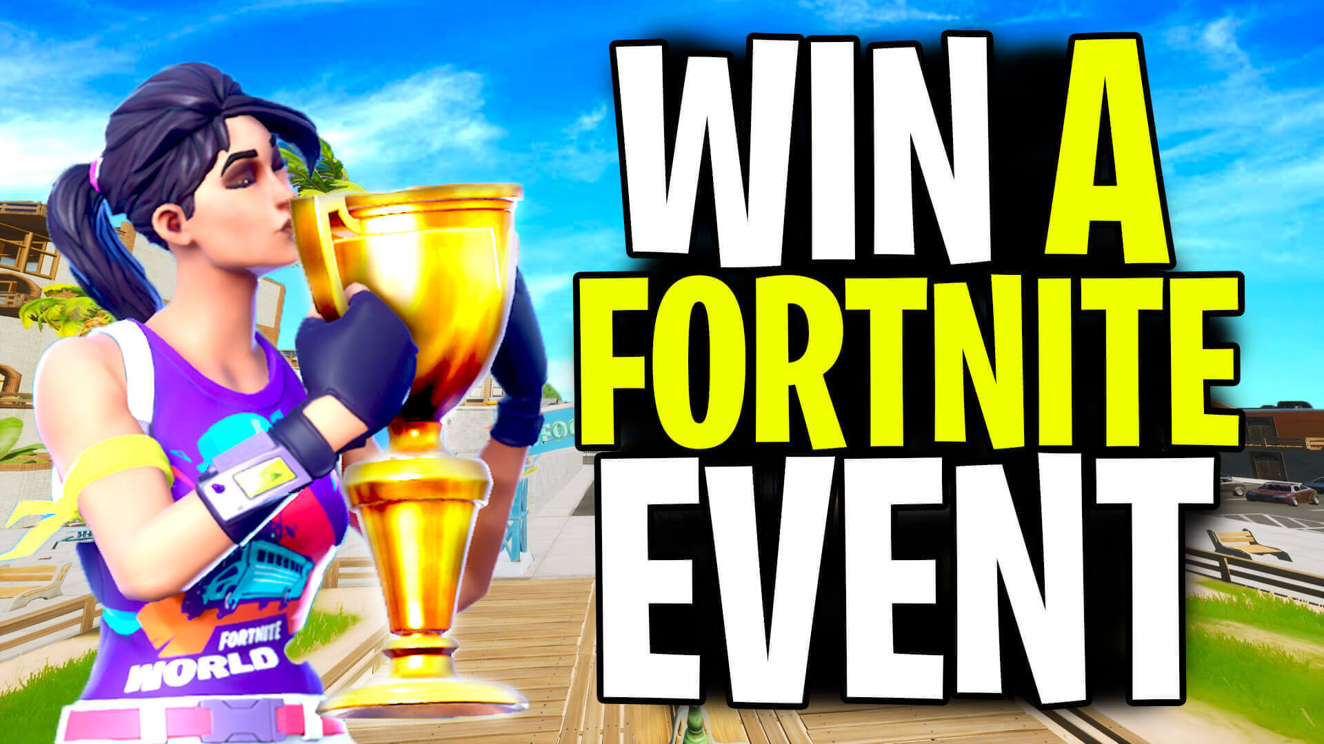 Win your first Fortnite tournament using these helpful tips!