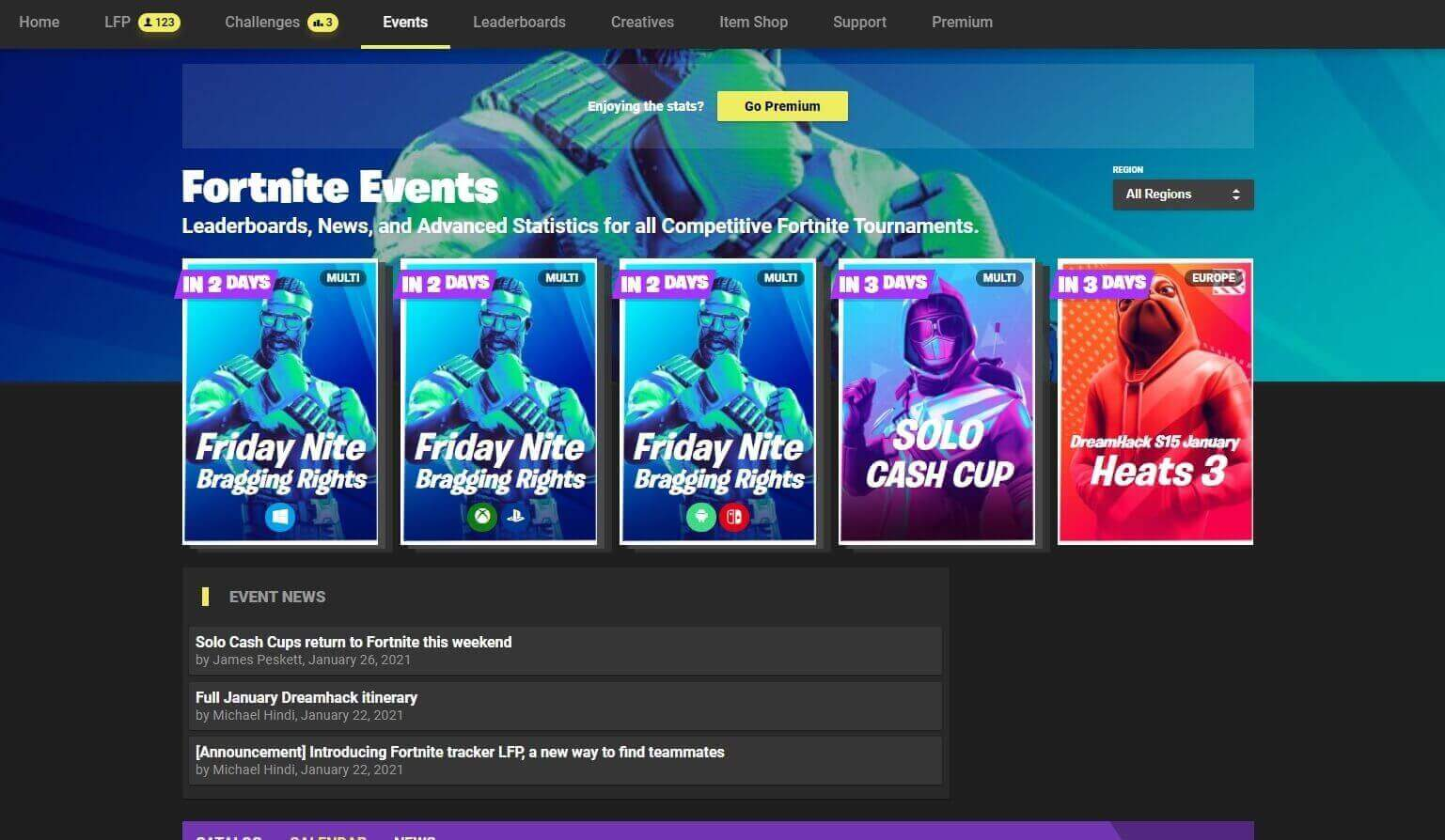 [ANNOUNCEMENT] Event Page redesign!