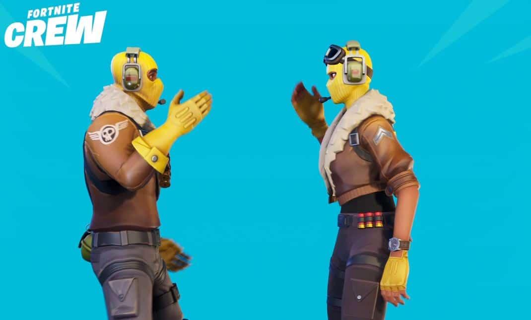Epic teases new Fortnite Crew skin + paid custom matchmaking?