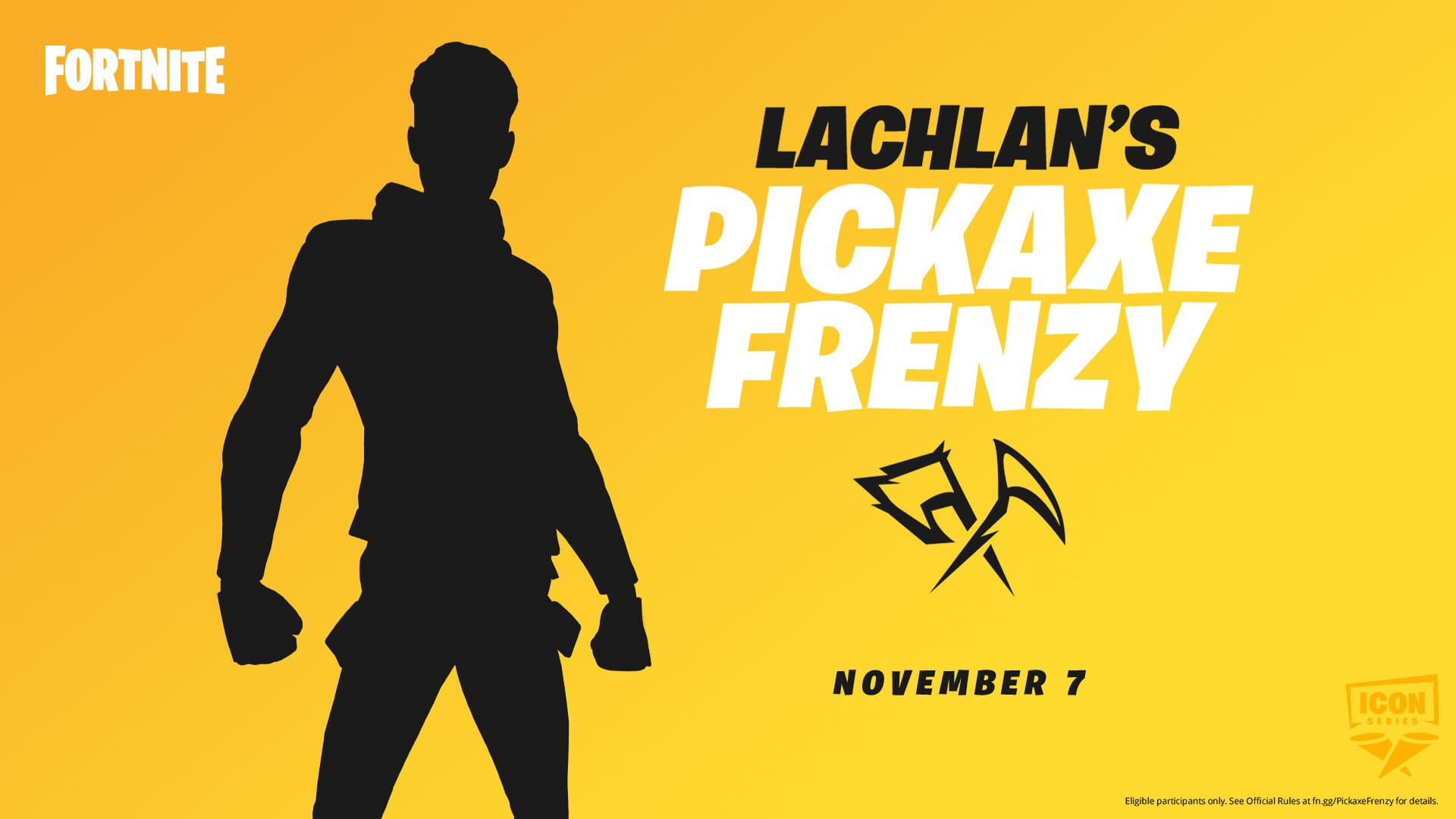 """Details of insane """"Pickaxe Frenzy"""" tournament revealed: Free Lachlan skin"""