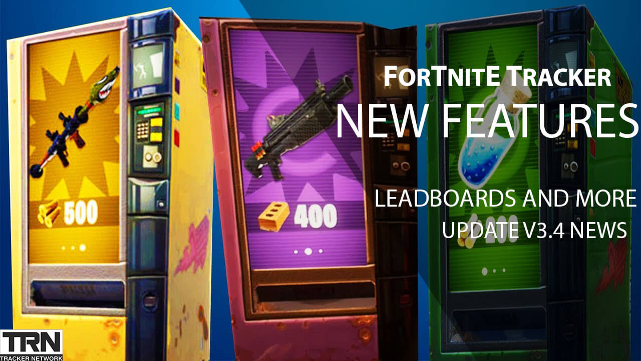 New Fortnite Tracker Features And Fortnite Update News Article With weapon information, lfg (looking for group). new fortnite tracker features and
