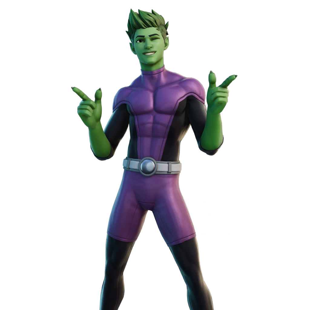 fortnite shop preview of Beast Boy