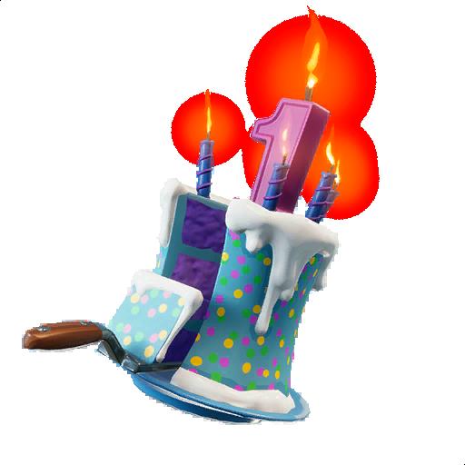Birthday Cake Skin fortnite store