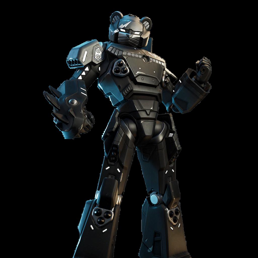 Mecha Team Shadow Skin fortnite store