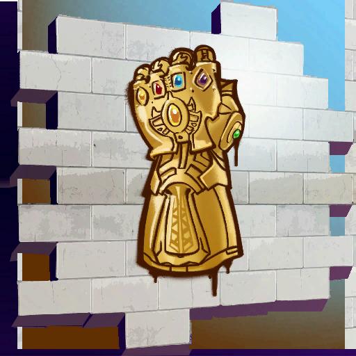 Infinity Gauntlet Skin fortnite store