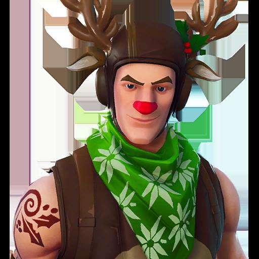 Red-nosed Ranger Skin fortnite store