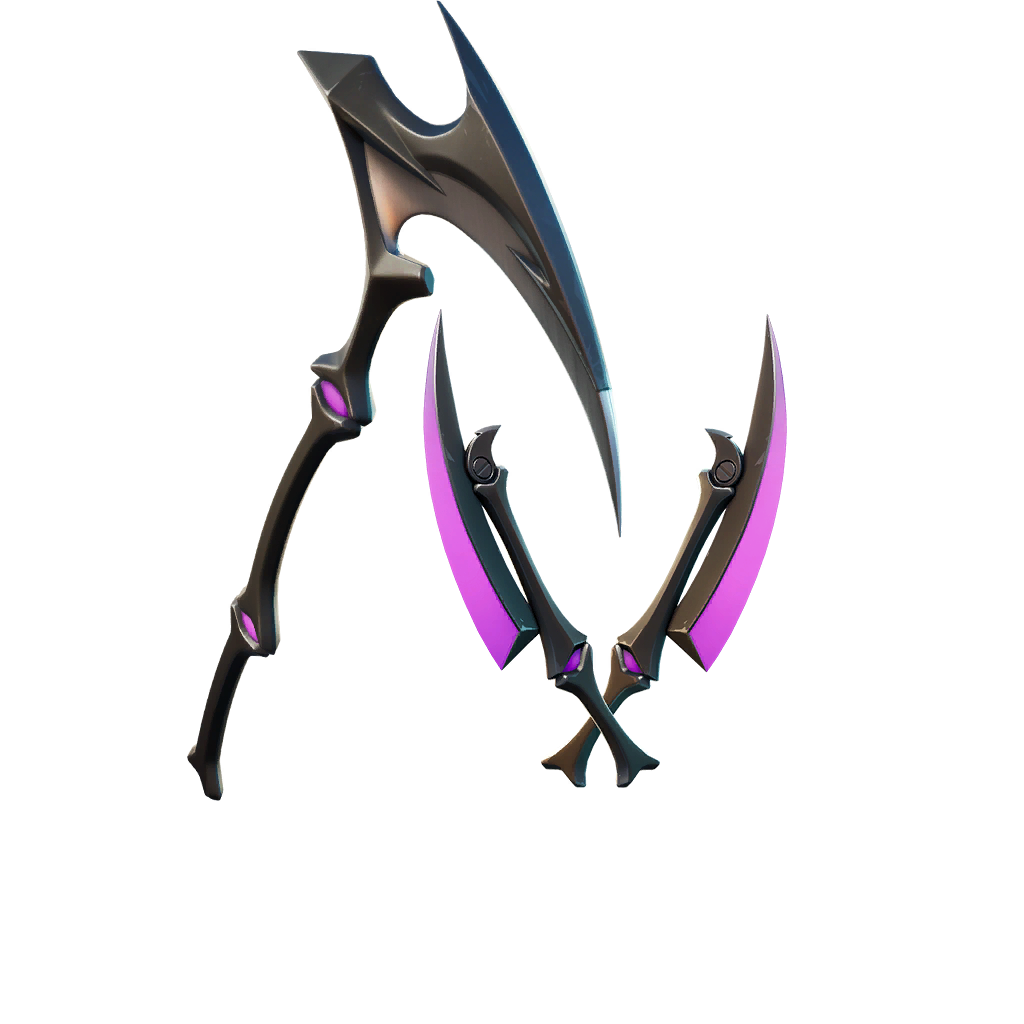fortnite shop preview of Grim Axes