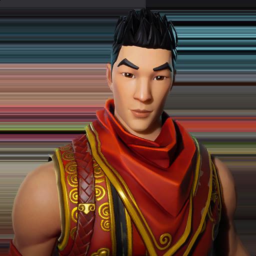 Crimson Scout Skin fortnite store