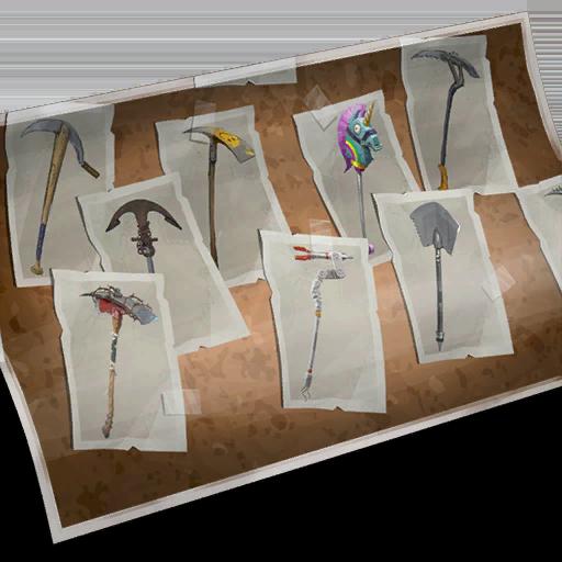 Harvesting Tools Skin fortnite store