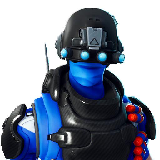 Carbon Commando Skin fortnite store