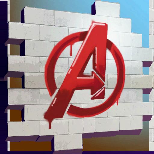 Avengers Logo Skin fortnite store