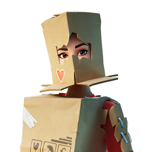 Boxy Skin fortnite store