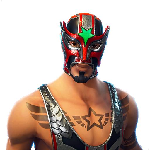 Masked Fury Skin fortnite store