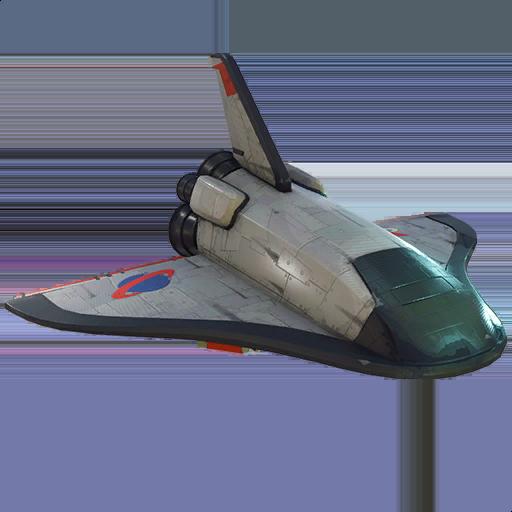 Orbital Shuttle Skin fortnite store