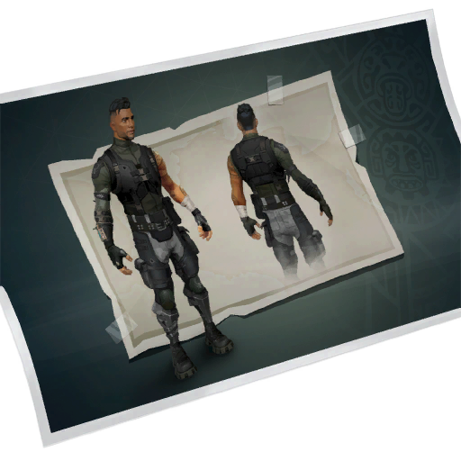 Squad Leader Skin fortnite store