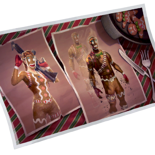 Gingerbread Skin fortnite store