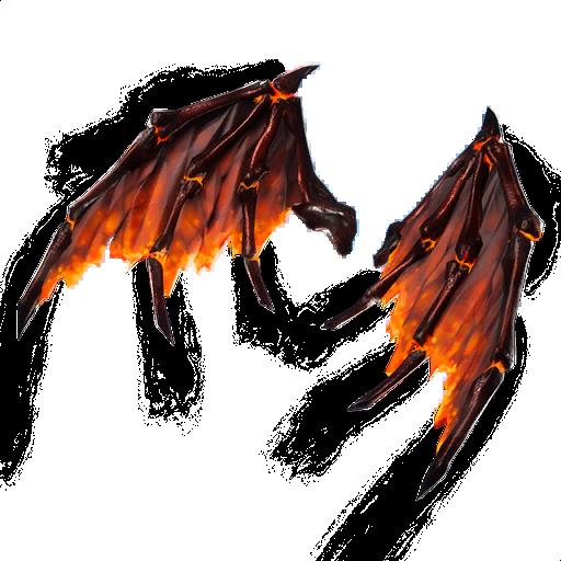 Molten Valkyrie Wings Skin fortnite store
