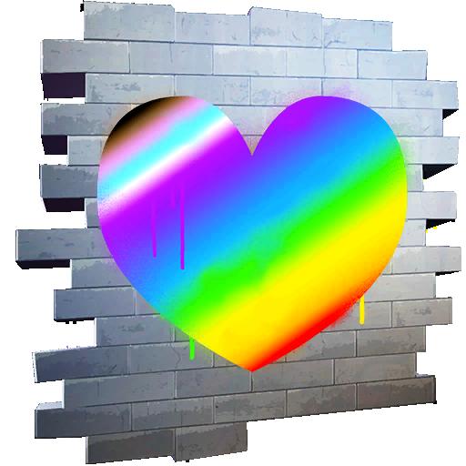Vibrant Heart Skin fortnite store