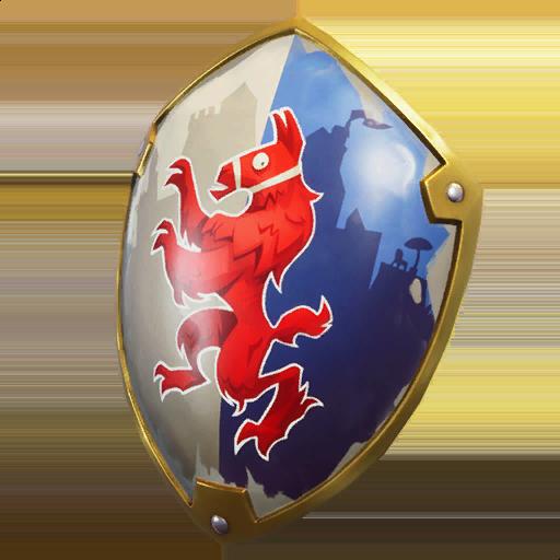Squire Shield Skin fortnite store