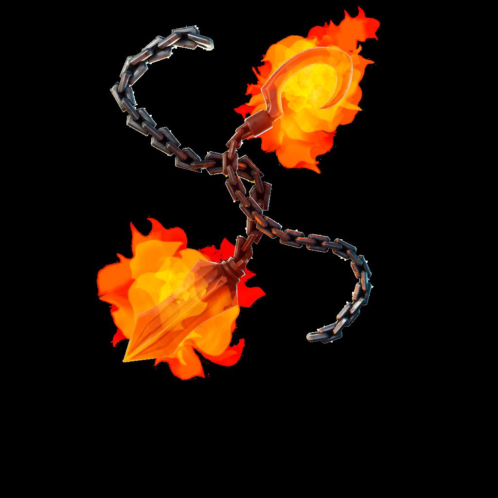 Soulfire Chains Skin fortnite store