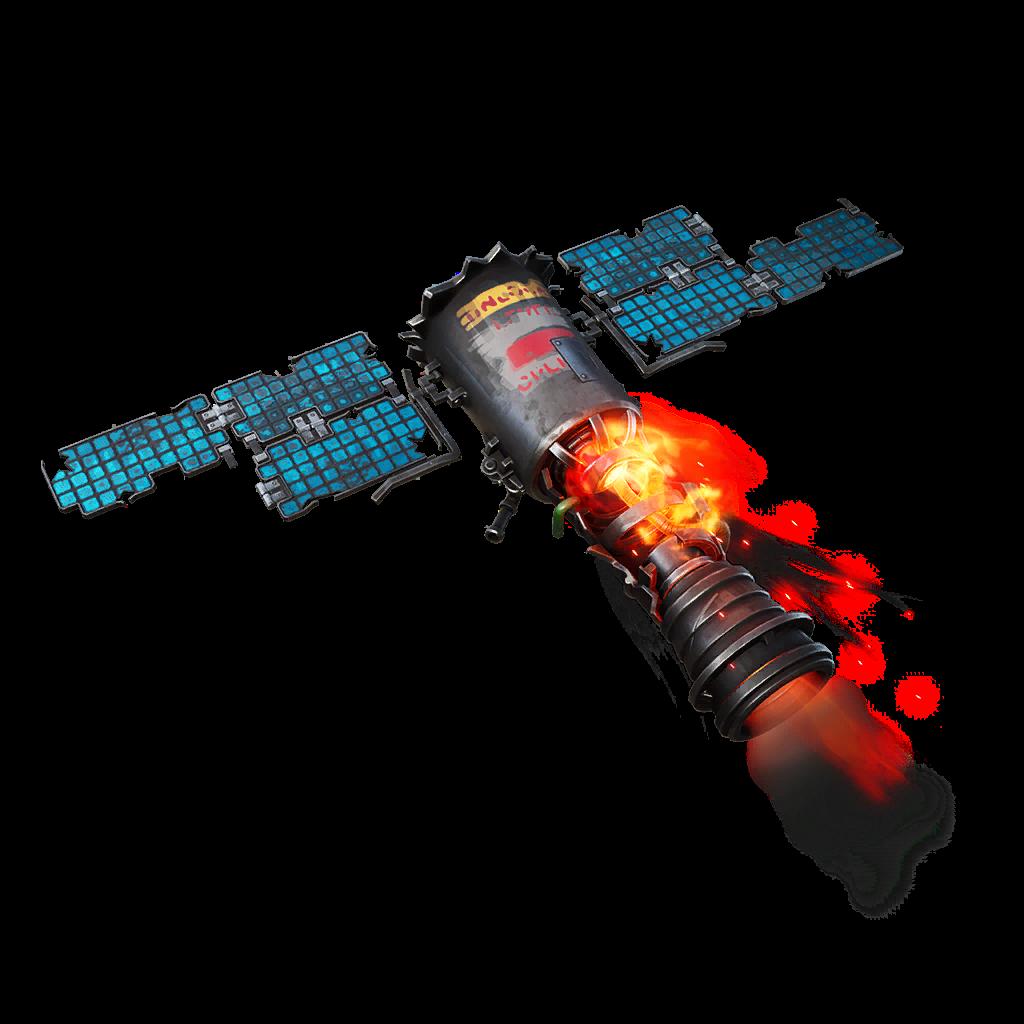 Crashing Satellite Skin fortnite store