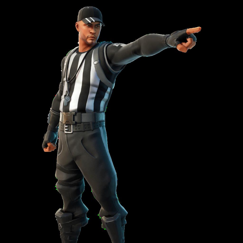 Offside Officer Skin fortnite store
