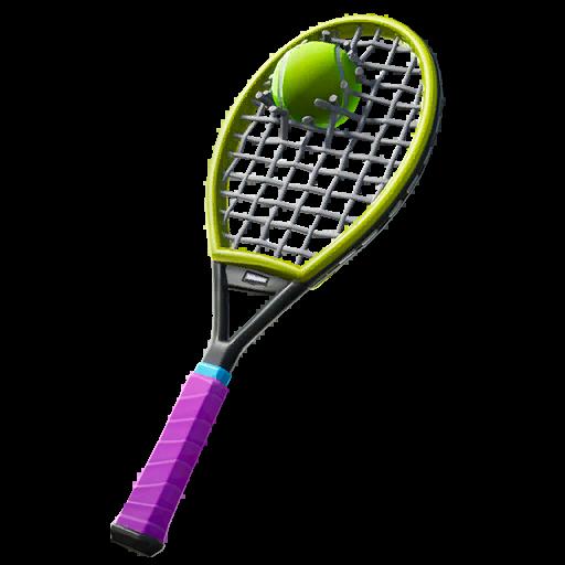 Used Racket Skin fortnite store