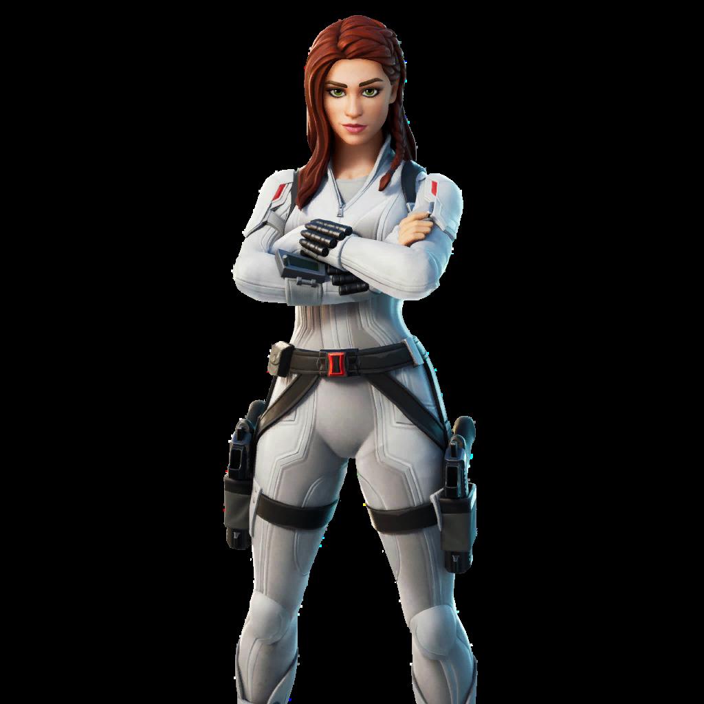 Black Widow (Snow Suit) Skin fortnite store