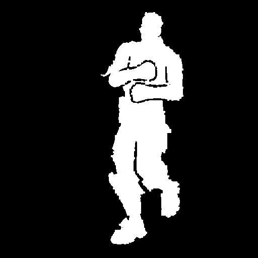 Running Man Skin fortnite store