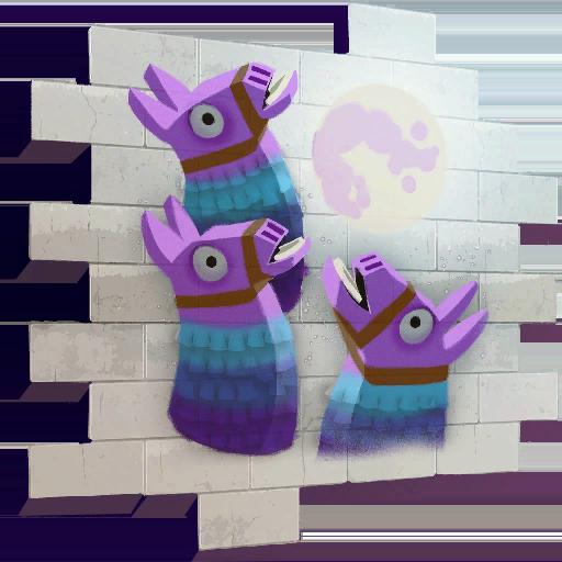 Three Llamas Skin fortnite store