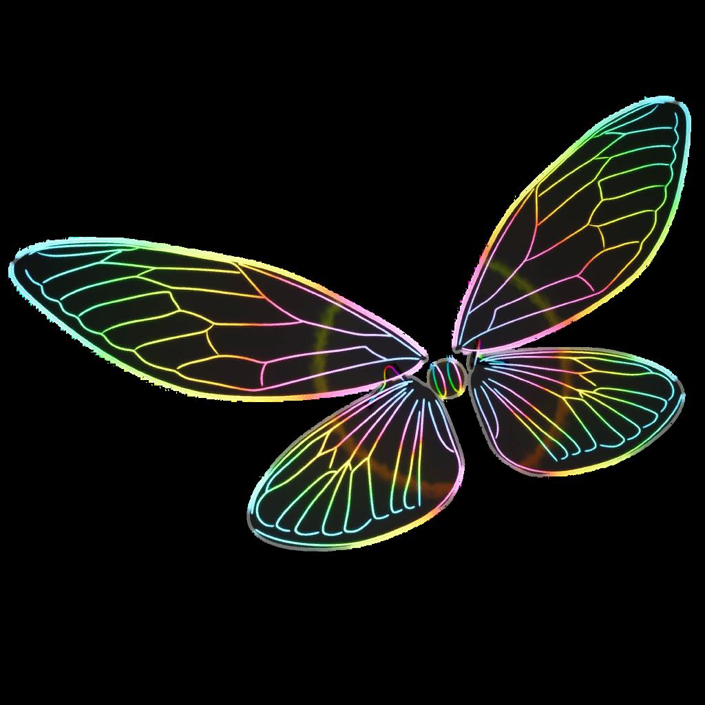 Glow Wings Skin fortnite store