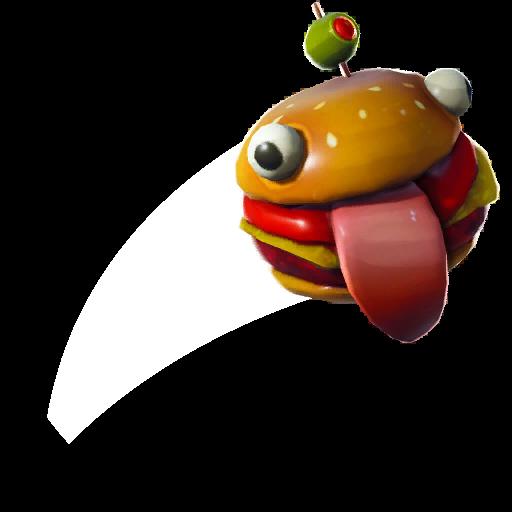 Fancy Burger Skin fortnite store
